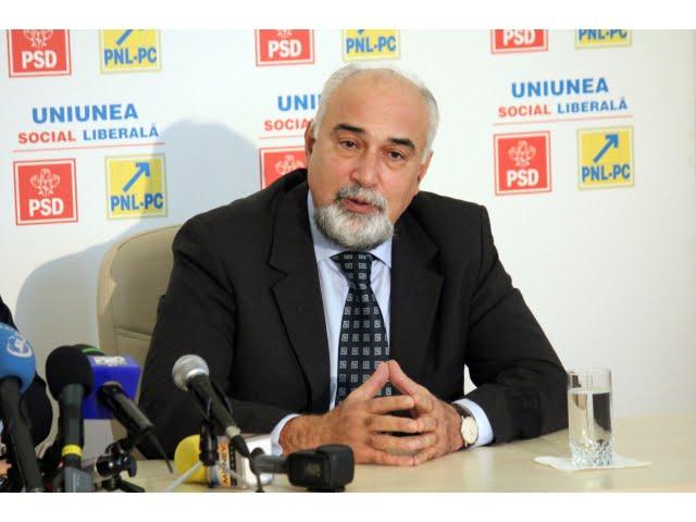 Varujan Vosganian: Noi facem ministere dupa oameni, nu alegem oameni pentru ministere!