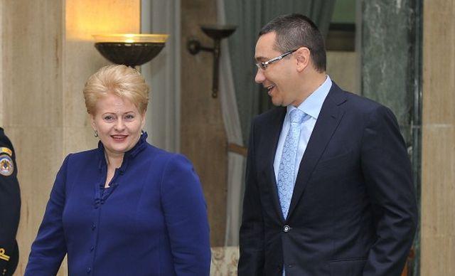 Lituania si Romania isi vor consolida cooperarea in Uniunea Europeana!
